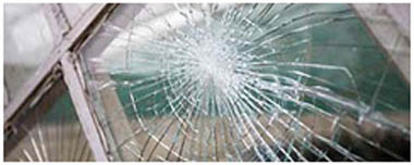 Chepping Smashed Glass